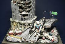 Dioramas - Dioramas Gundam