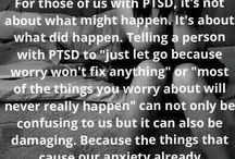 Domestic Abuse & PTSD / As an abuse survivor, I never realized, when I left, I would be forever carrying this weight.