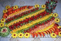 espelho de frutas