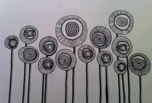 Grafisk tegne mønstrer