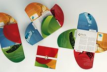 brochures shapes folders
