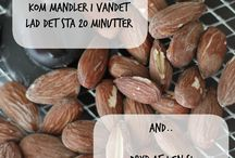 Saltede mandler