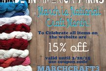 Made in America Yarns Sales & Promotions / Sales & Promotions at www.madeinamericayarns.com