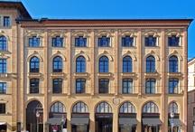 MAXIMILIANSTRAßE in München / Einmalige Fassaden im Bürkleinstil in der Maximilianstraße, München, OREALY Immobilien, www.orealy.de