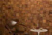 Lounge wall clad ideas