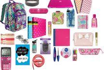 School Bag organization