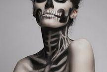 Grime / visagie / body&face paint