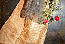 Christmas primitive cloth decor / by Angela Phillips