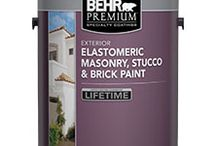 Exterior Paint (Stucco) / http://www.behr.com/cma/Behr/Marketing/Products/colorcards/MasonryStuccoBrickPaints_USweb.pdf