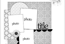 Scrapbook layout sketches & ideas / by Lisa Barton Wisdom of the Old Ways