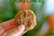 Banana n coconut cookies