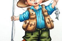 Card ideas - fishing/outdoor / by Bobbie Sumpter