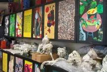 Art classroom ideas
