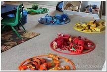 Preschool - Colors & Shapes / by Toni Brazil