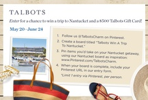 Talbots Win a Trip to Nantucket / Talbots Inspired me to bring these charming items with me on my trip to Nantucket @Talbotscharm