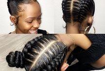 Black girls braids