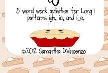Spelling (Long vowels) / by Nicole Saunders