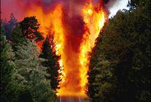 fuoco che arde