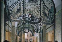 Art Nouveau Door and Entrances