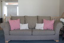 Upholstering couch