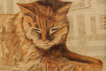 """Quilts - Cats / The cat says """"meow"""""""