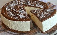 kokosovy cheesecake