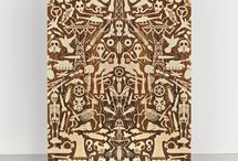 Patterned and symmetrical art and craft