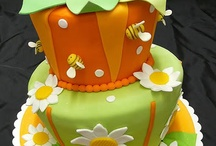 Colorfull cakes / Ideas for decorating cakes