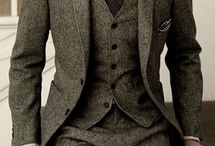 Wedding attire / Mens suits