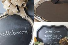 tray blackboards