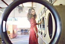 Senior Girl - Laundromat