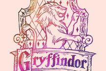 Gryffindor Board / Mainly Gryffindor stuff, books, potions, spells.