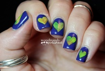 Earth Week Nails & Makeup / by Barielle
