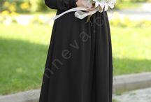 Dilbeste Dantel Tesettür Elbise / tesettür giyim, tesettür elbise, tesettür abiye modelleri