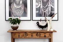 Tribal Style / Indigenous, African and Tribal inspired design