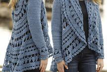 Crochet square clothes