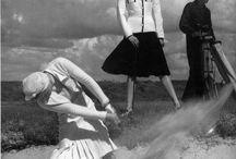 Golf shoot / Golf themed fashion editorial