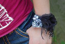 Bijoux tissu