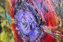 Details of artworks of Monika Brchelova