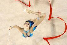 gimnasia rítmica / Gimnasia, flexibilidad, rítmica, elasticidad,