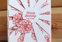 Sunburst flower card