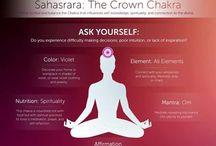 7 chackra SAHASRARA - coronario / crown or coronal chakra