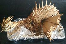 Mézeskalács sárkány/gingerbread dragon