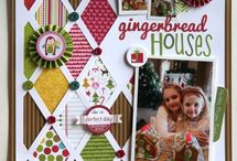 scrapbooking christmas layout