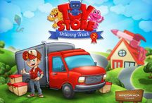 Toy Store Delivery Truck 2 iPad App / The long-awaited sequel to our most successful kids game is finally here! Get your kids excited about learning and being challenged while having fun with Toy Store Delivery Truck 2!  https://itunes.apple.com/us/app/toy-store-delivery-truck-2/id824856937?mt=8