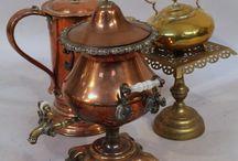 Copper, Brass & Gold