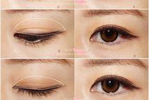 Augen Make up Cosplay