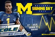 2015 National Signing Day / The 2015 Michigan Football National Signing Day Class.  / by Michigan Athletics