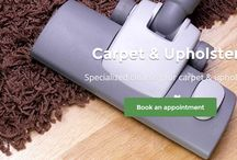 Upholstery and Carpet Cleaning / Professional Eco-friendly Carpet and Upholstery Cleaning Services for a Safer and Healthier Indoor Environment.