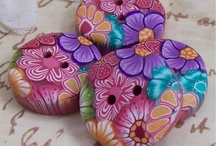 POLYMER  CLAY  BUTTONS&BEADS&other